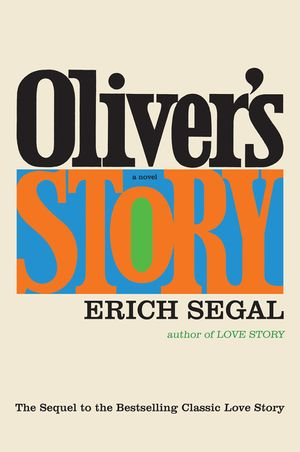 Oliver's Story book image