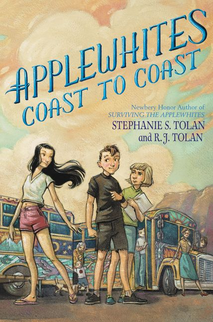 Applewhites coast to coast stephanie s tolan r j tolan hardcover read a sample enlarge book cover fandeluxe Choice Image
