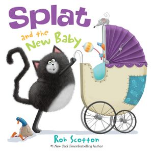Splat the Cat: Splat and the New Baby book image