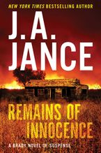Remains of Innocence Hardcover  by J. A. Jance