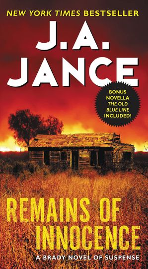 Remains of Innocence Paperback  by J. Jance