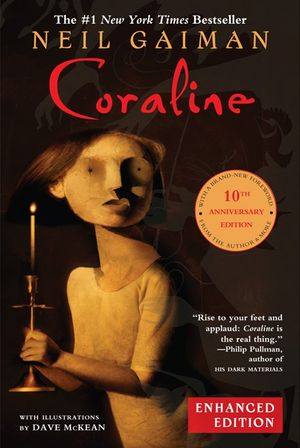 Coraline 10th Anniversary Enhanced Edition book image
