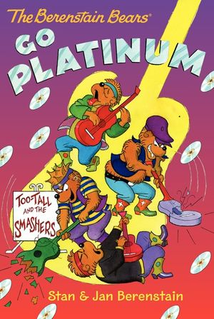 The Berenstain Bears Chapter Book: Go Platinum book image