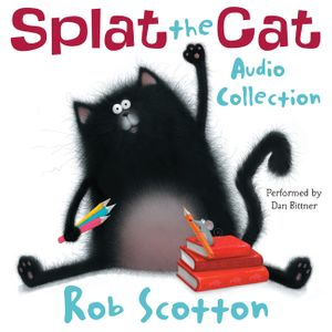 Splat the Cat Audio Collection book image