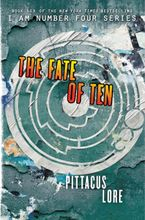 The Fate of Ten Hardcover  by Pittacus Lore