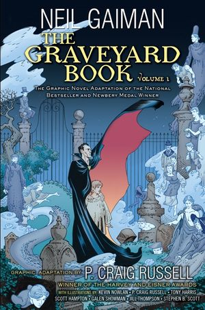 The Graveyard Book Graphic Novel: Volume 1 book image