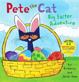 Pete the Cat: Big Easter Adventure book image