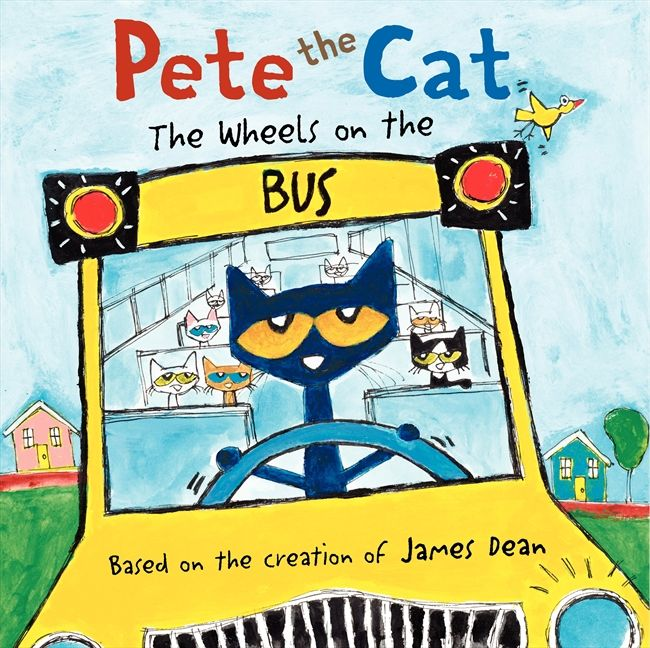 Pete The Cat Wheels On Bus