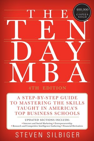 The Ten-Day MBA 4th Ed. book image