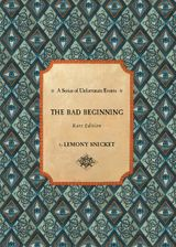 Series of Unfortunate Events #1: The Bad Beginning Rare Edition Enhanced