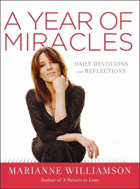 A Year of Miracles - Marianne Williamson - Hardcover