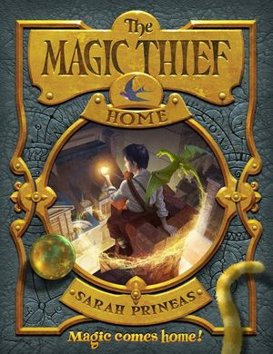 The Magic Thief: Home book image