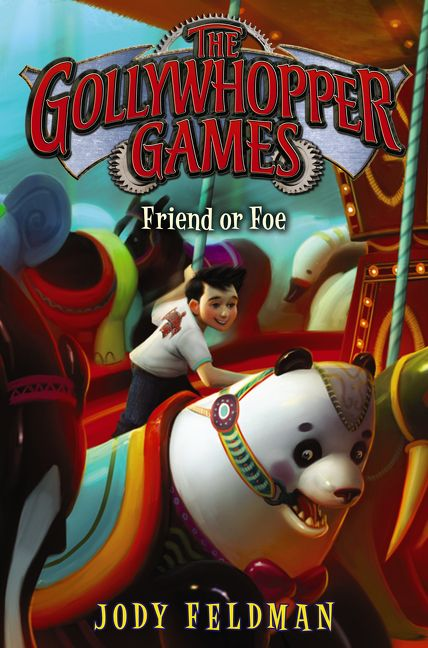 The Gollywhopper Games Friend Or Foe - Jody Feldman - Hardcover-5377