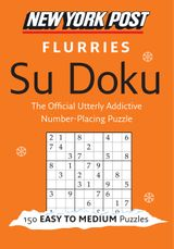 New York Post Flurries Su Doku (Easy/Medium)