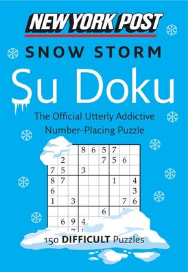 New York Post Snow Storm Su Doku (Difficult)