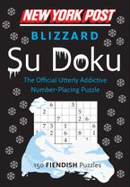 New York Post Blizzard Su Doku (Fiendish) Paperback  by HarperCollins Publishers  Ltd