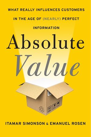Absolute Value book image