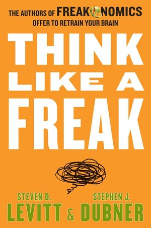 Think Like a Freak book image