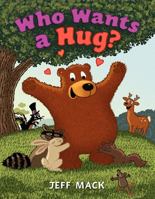 Who wants a hug jeff mack hardcover enlarge book cover fandeluxe Images