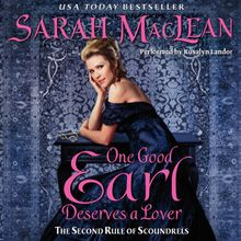 One Good Earl Deserves a Lover Unabridged  WMA