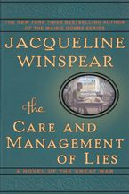 The Care and Management of Lies Hardcover  by Jacqueline Winspear