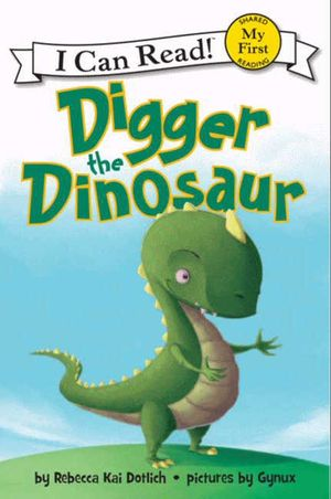 Digger the Dinosaur book image