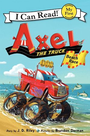 Axel the Truck: Beach Race book image