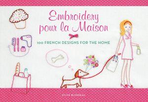 Embroidery pour la Maison book image
