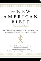 New American Bible (Non-Flex Black Imitation Leather)