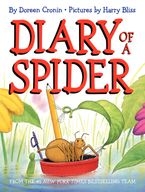 Diary of a Spider Hardcover  by Doreen Cronin