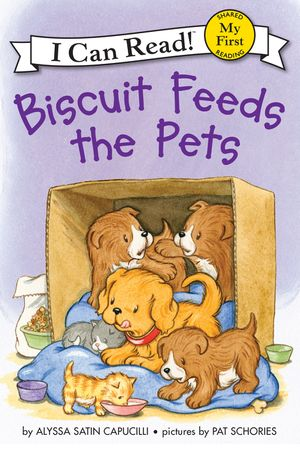 Biscuit Feeds the Pets book image