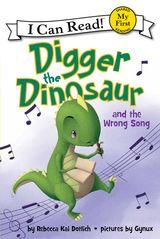Digger the Dinosaur and the Wrong Song