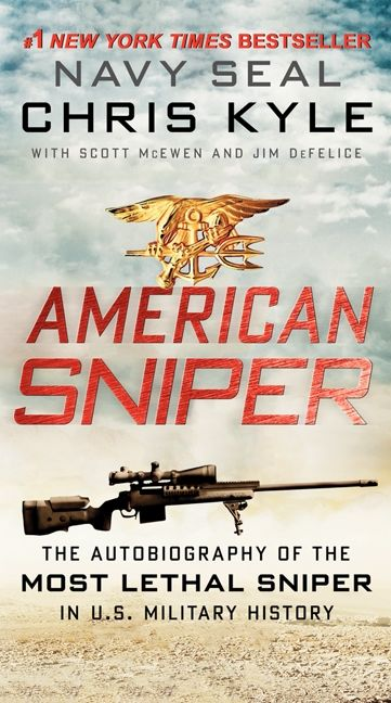 American sniper chris kyle scott mcewen jim defelice paperback read a sample enlarge book cover fandeluxe Image collections