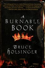 A Burnable Book Hardcover  by Bruce Holsinger