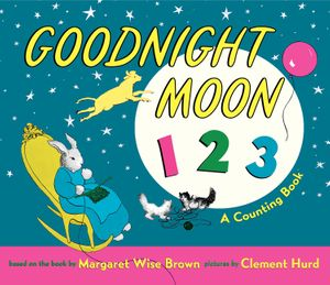 Goodnight Moon 123 Padded Board Book book image