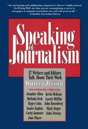 Speaking of Journalism book image