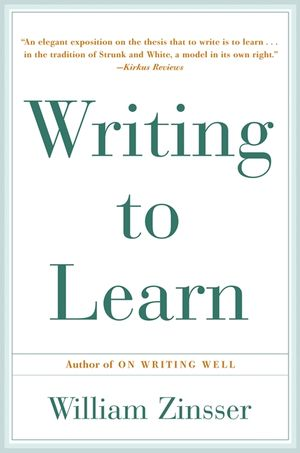 Writing to Learn book image