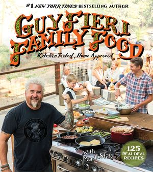 Guy Fieri Family Food book image