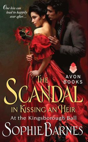 The Scandal in Kissing an Heir book image