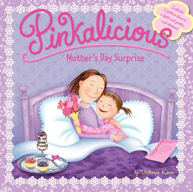 Mother S Day Cookbook Cover ~ Pinkalicious mother s day surprise victoria kann