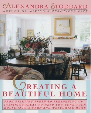 Creating a Beautiful Home book image