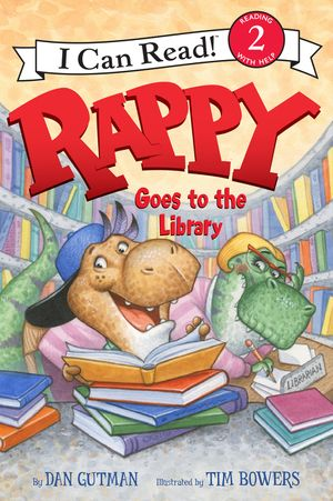 Rappy Goes to the Library book image