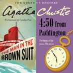 Man in the Brown Suit & 4:50 From Paddington Downloadable audio file  by Agatha Christie