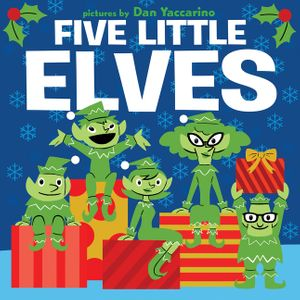 Five Little Elves book image