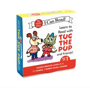 Learn to Read with Tug the Pup and Friends! Box Set 1 book image