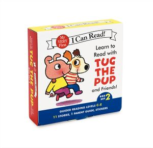 Learn to Read with Tug the Pup and Friends! Box Set 2 book image
