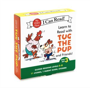 Learn to Read with Tug the Pup and Friends! Box Set 3 book image