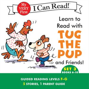 Learn to Read with Tug the Pup and Friends! Set 3: Books 6-10 book image