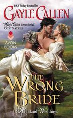 The Wrong Bride Paperback  by Gayle Callen