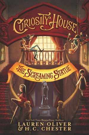 Curiosity House: The Screaming Statue book image